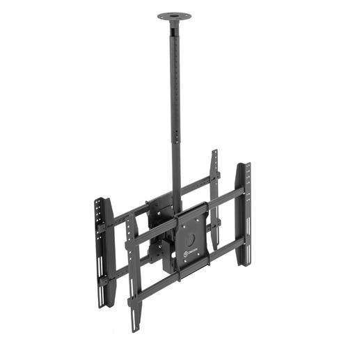 Фото - Кронштейн для телевизора ONKRON N4L, 32-80, потолочный, наклон кронштейн для телевизоров onkron np47 черный