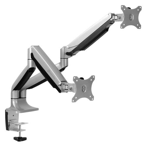 Фото - Кронштейн для мониторов Onkron G200 серебристый 13-32 макс.18кг настольный поворот и наклон верт.п кронштейн для телевизоров onkron np47 черный