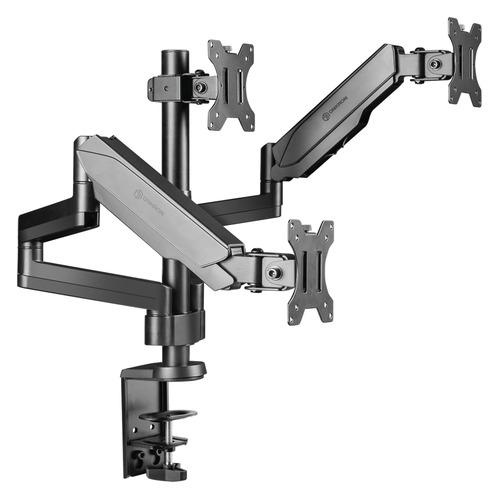 Фото - Кронштейн для мониторов Onkron G280 черный 13-32 макс.24кг настольный поворот и наклон верт.переме кронштейн для телевизоров onkron n4l
