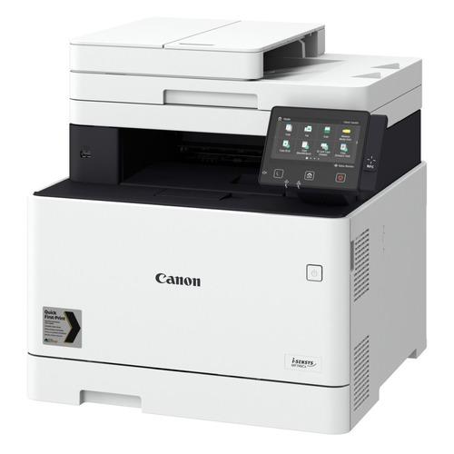 Фото - МФУ лазерный CANON i-Sensys MF746Cx, A4, цветной, лазерный, белый [3101c065] мфу canon i sensys mf744cdw копир цветной принтер сканер dadf duplex 27стр мин 1200x1200dpi fax wifi lan a4 замена mf734cdw