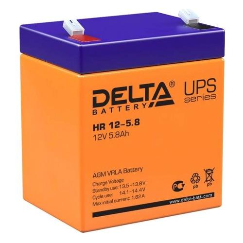 Аккумуляторная батарея для ИБП DELTA HR 12-5.8 12В, 5.8Ач