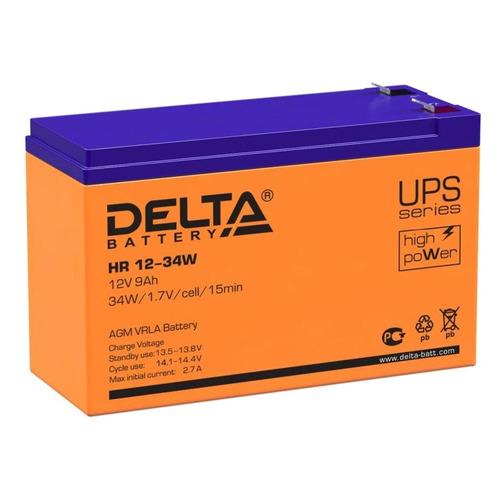 Аккумуляторная батарея для ИБП Delta HR 12-34 W 12В, 9Ач