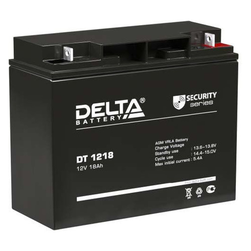 Аккумуляторная батарея для ИБП DELTA DT 1218 12В, 18Ач