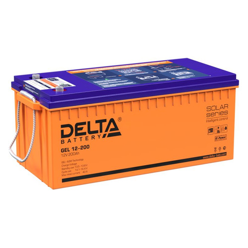 Аккумуляторная батарея для ИБП DELTA GEL 12-200 12В, 200Ач