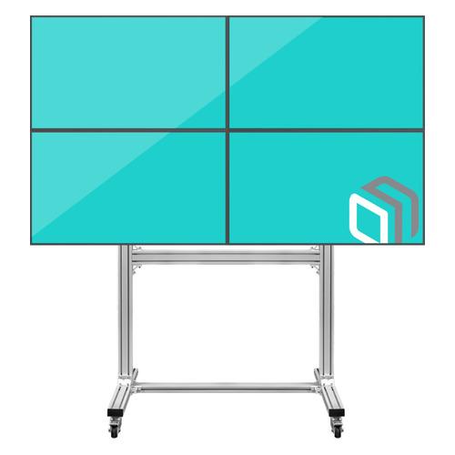 Фото - Подставка для телевизора ONKRON FSPRO2L-22, 40-55, напольный, мобильный подставка для телевизора onkron ts1351 40 65 напольный мобильный