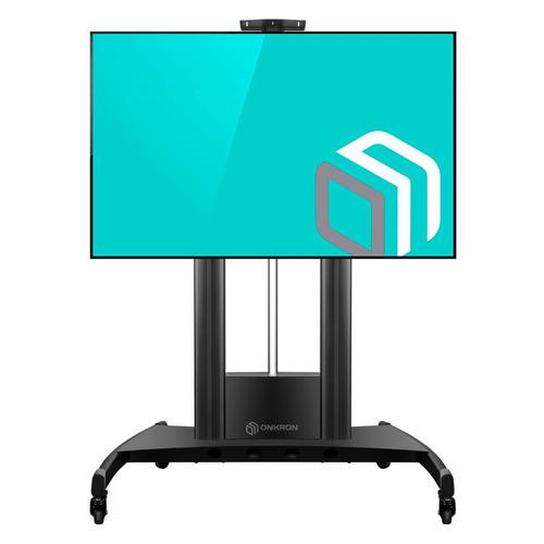 Подставка для телевизора ONKRON TS2210, 55-100, напольный, мобильный мобильная стойка для панелей и телевизоров fix m50 black