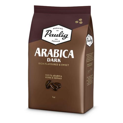 Кофе зерновой PAULIG Arabica Dark Roast, темная обжарка, 1000 гр [16608] кофе зерновой paulig presidentti original легкая обжарка 1000 гр [17649]