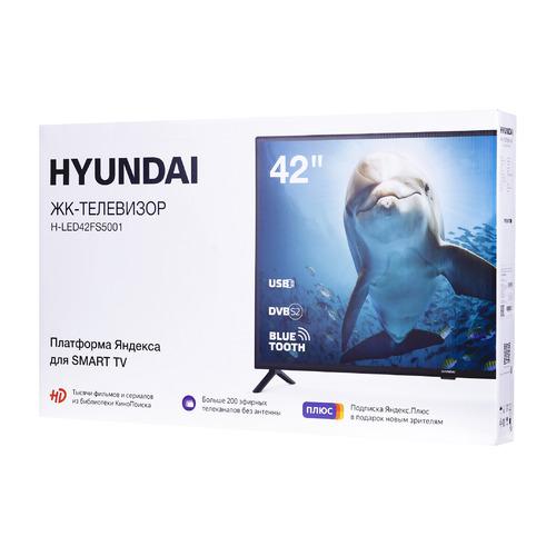 Фото - Телевизор HYUNDAI H-LED42FS5001, Яндекс.ТВ, 42, FULL HD телевизор digma dm led42mr10 42 full hd