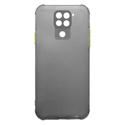 Чехол (клип-кейс) GRESSO Air_matt, для Xiaomi Redmi 9, черный [gr17air698] клип кейс gresso мармелад для xiaomi redmi 2 красный