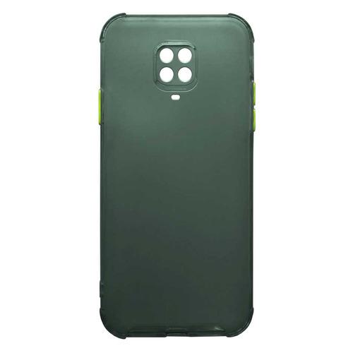 Чехол (клип-кейс) GRESSO Air_matt, для Xiaomi Redmi Note 9 Pro, зеленый [gr17air704] клип кейс gresso мармелад для xiaomi redmi 2 красный