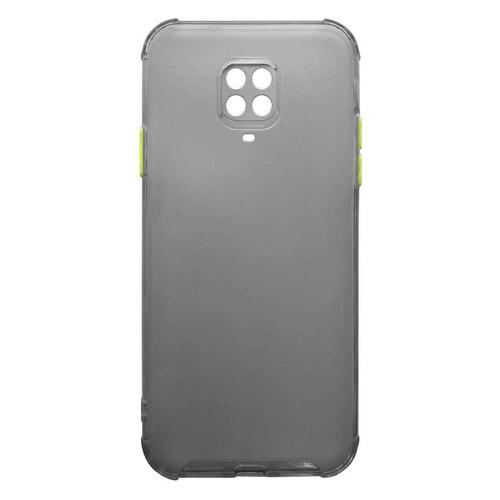 Чехол (клип-кейс) GRESSO Air_matt, для Xiaomi Redmi Note 9 Pro, черный [gr17air705] клип кейс gresso мармелад для xiaomi redmi 2 красный