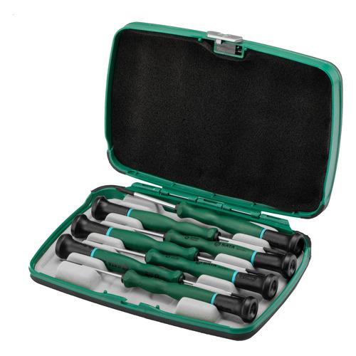 Набор отверточный SATA 09315, 7 предметов набор dewalt ушм болгарка dwe4151ks набор отверток dwht0 62057