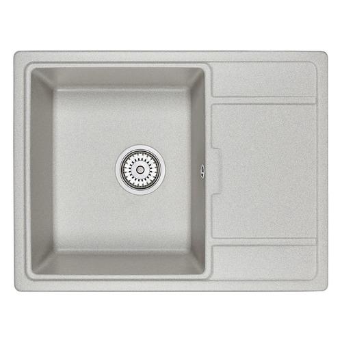 Кухонная мойка GRANULA 6503, кварц, 50см х 65см, базальт [gr-6503]