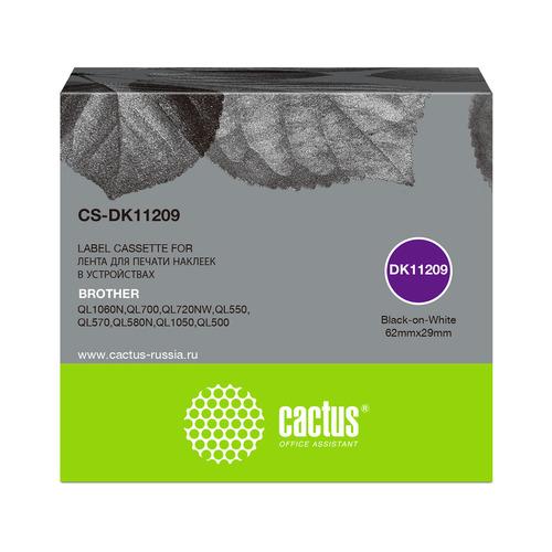 Картридж CACTUS CS-DK11209, черный(CS-DK11209)