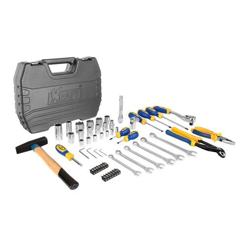 Набор инструментов KRAFT KT 700303, 56 предметов