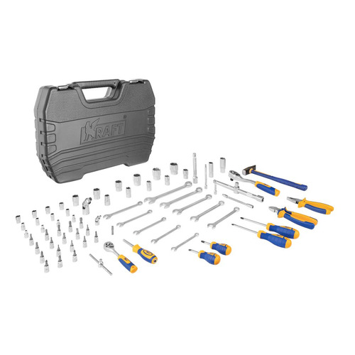 Набор инструментов KRAFT KT 700677, 73 предмета