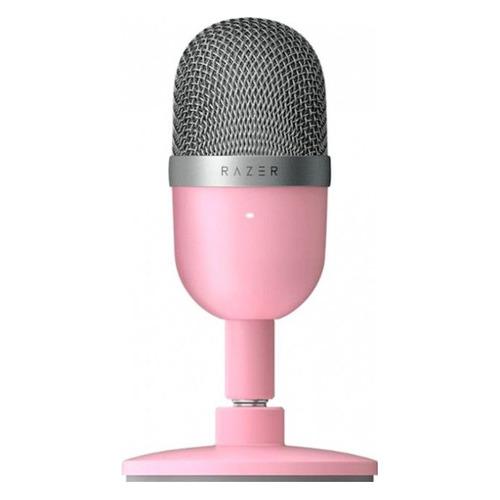 Микрофон RAZER Seiren Mini Quartz – Ultra-compact, розовый [rz19-03450200-r3m1]