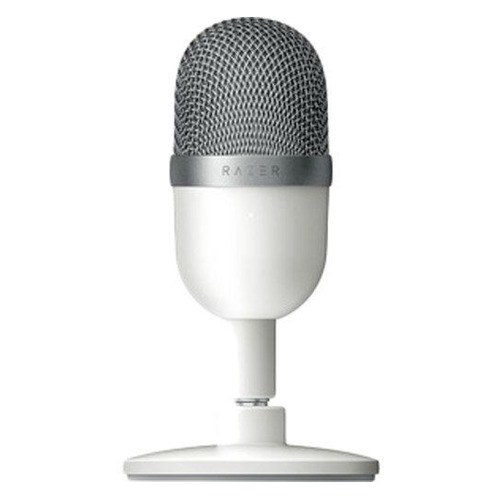 Микрофон RAZER Seiren Mini Mercury – Ultra-compact, белый [rz19-03450300-r3m1]