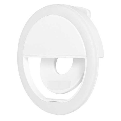 Вспышка для селфи DF LED-01, для смартфонов, белый [df led-01 (white)]