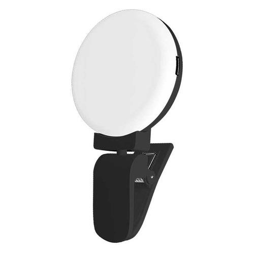 Вспышка для селфи DF LED-03, для смартфонов, черный [df led-03 (black)]
