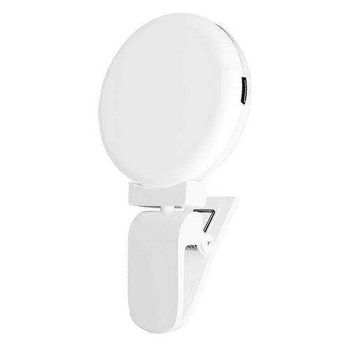 Вспышка для селфи DF LED-03, для смартфонов, белый [df led-03 (white)]