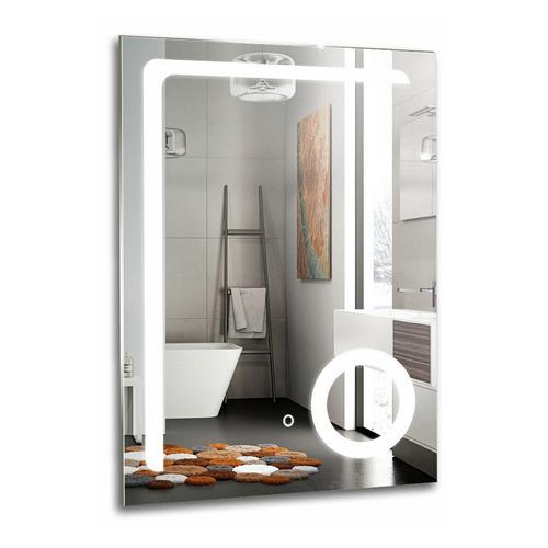 настенное зеркало с увеличительным эффектом и сенсорным включателем подсветки valera optima light smart 207 09 Зеркало MIXLINE Премьер Клио, 600х800 мм [539791]