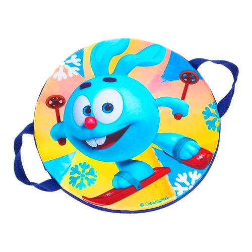 ледянки Ледянка Смешарики Крош на лыжах синий (28265330)