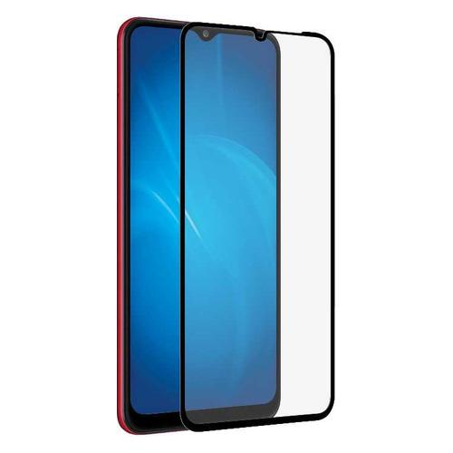 Защитное стекло для экрана DF sColor-110 для Samsung Galaxy A02/A02s/A12/M12 1 шт, черный [df scolor-110 (black)]