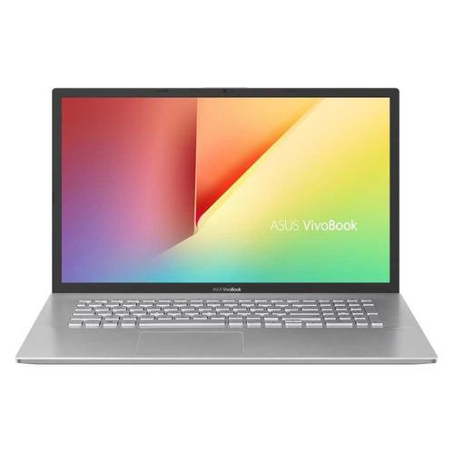 Ноутбук ASUS VivoBook D712DA-AU021T, 17.3, IPS, AMD Ryzen 5 3500U 2.1ГГц, 8ГБ, 512ГБ SSD, AMD Radeon Vega 8, Windows 10, 90NB0PI1-M08390, серебристый ноутбук huawei matebook d 14 nbl waq9r 14 ips amd ryzen 5 3500u 2 1ггц 8гб 512гб ssd amd radeon vega 8 windows 10 53010ttb серый