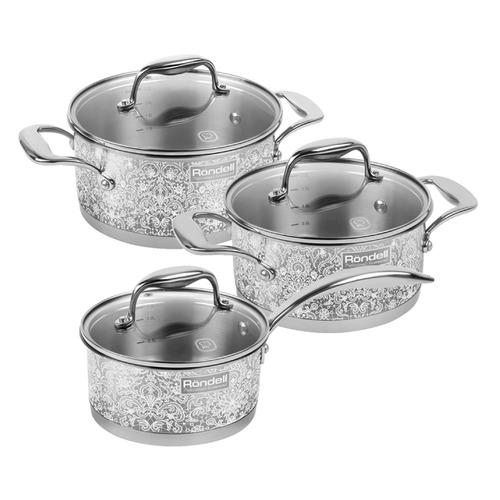 Набор посуды RONDELL 1091-RD-01, 6 предметов недорого