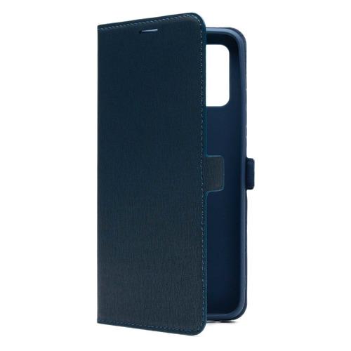 Фото - Чехол (флип-кейс) BORASCO Book Case, для Samsung Galaxy A02s, синий [39689] чехол флип кейс borasco shell case для samsung galaxy m21 зеленый [39139]