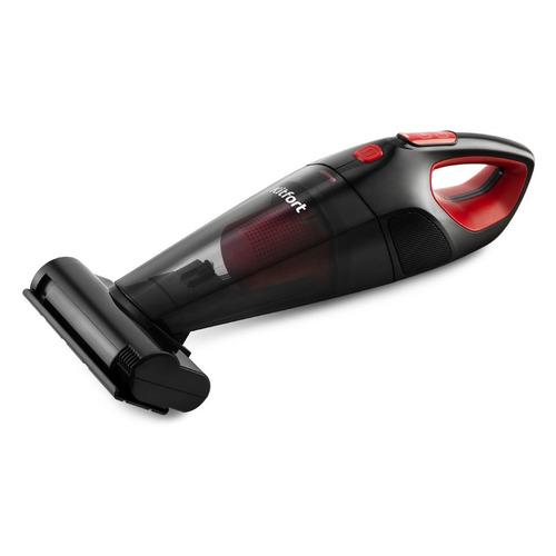 Фото - Ручной пылесос KITFORT KT-591, 100Вт, черный/красный ручной пылесос kitfort kt 578