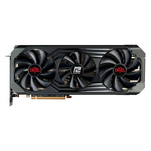 Видеокарта POWERCOLOR AMD Radeon RX 6900XT , AXRX 6900XT 16GBD6-2DHCE/OC, 16ГБ, GDDR6, OC, Ret