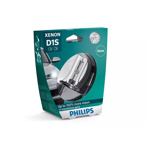 Лампа автомобильная ксеноновая PHILIPS 85415XV2S1, D1S, 85В, 35Вт, 4800К, 1шт