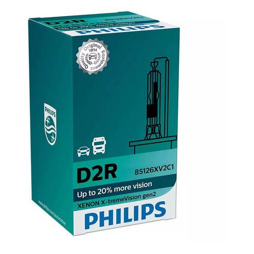 Лампа автомобильная ксеноновая PHILIPS 85126XV2S1, D2R, 85В, 35Вт, 4800К, 1шт