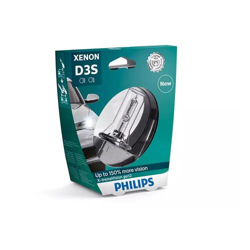 Лампа автомобильная ксеноновая PHILIPS 42403XV2S1, D3S, 42В, 35Вт, 4800К, 1шт