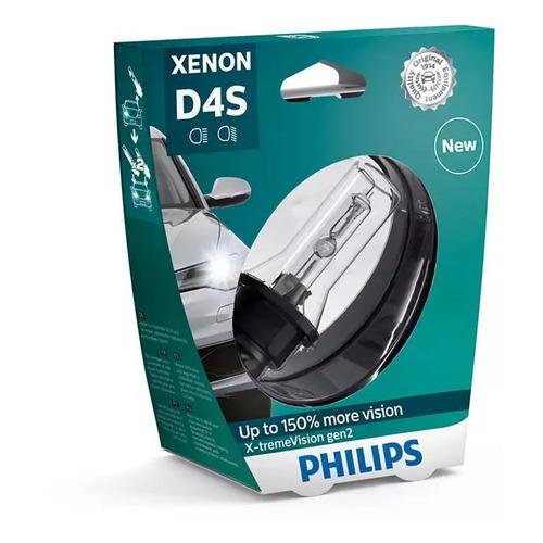 Лампа автомобильная ксеноновая PHILIPS 42402XV2S1, D4S, 42В, 35Вт, 4800К, 1шт