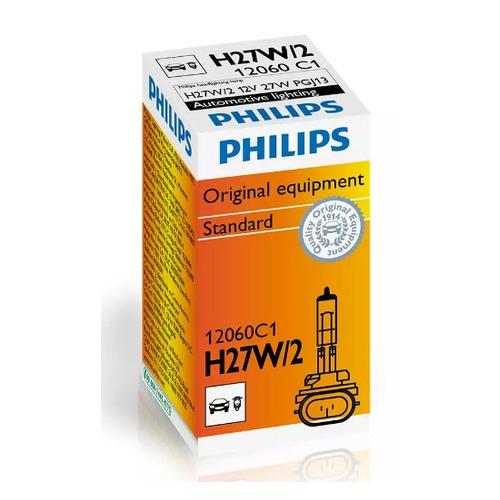 Фото - Лампа автом.галог. Philips 12060C1 H27W/2 12В 27Вт (упак.:1шт) коннектор kicx quick connector ver 2 черный упак 1шт 2041075