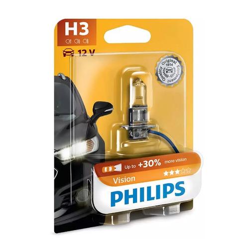 Лампа автомобильная галогенная PHILIPS 12336PRB1, H3, 12В, 55Вт, 1шт