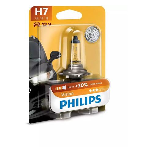 Лампа автомобильная галогенная PHILIPS 12972PRB1, H7, 12В, 55Вт, 1шт