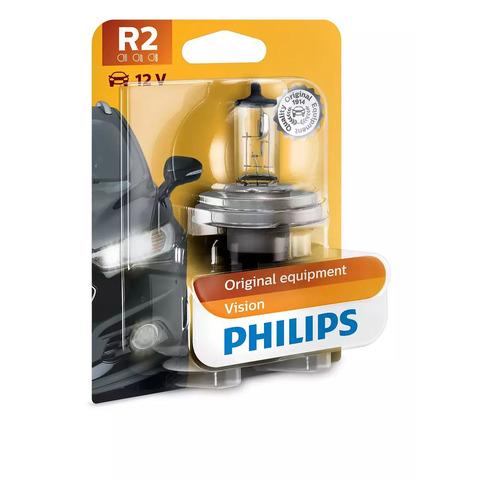 Фото - Лампа автомобильная галогенная PHILIPS 12475B1, HR2, 12В, 45Вт, 1шт philips 11498xuwx2