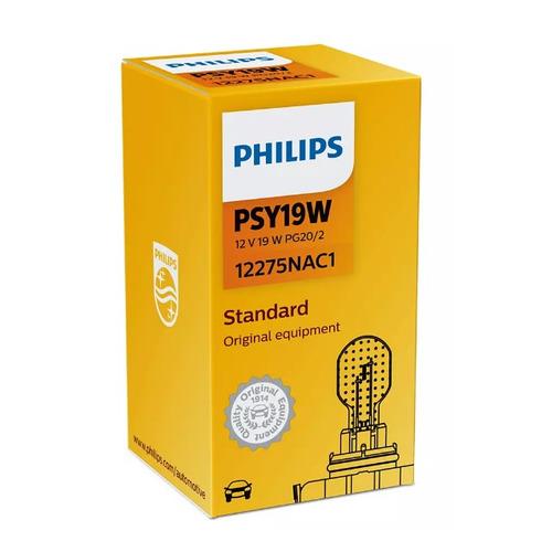 Фото - Лампа автомобильная накаливания PHILIPS 12275NAC1, PSY19W, 12В, 19Вт, 1шт philips 11498xuwx2