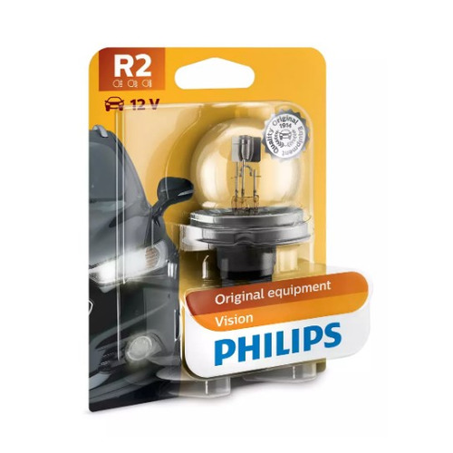 Лампа автомобильная накаливания PHILIPS 12620B1, R2, 12В, 45Вт, 1шт