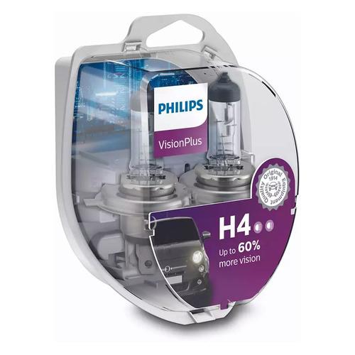 Лампа автомобильная галогенная PHILIPS 12342VPS2, H4, 12В, 60Вт, 2шт