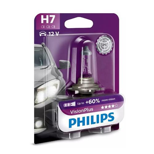Лампа автомобильная галогенная PHILIPS 12972VPB1, H7, 12В, 55Вт, 1шт