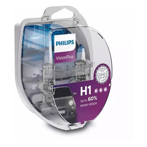 Лампа автомобильная галогенная Philips 12258XVPS2, H1, 12В, 55Вт, 2шт