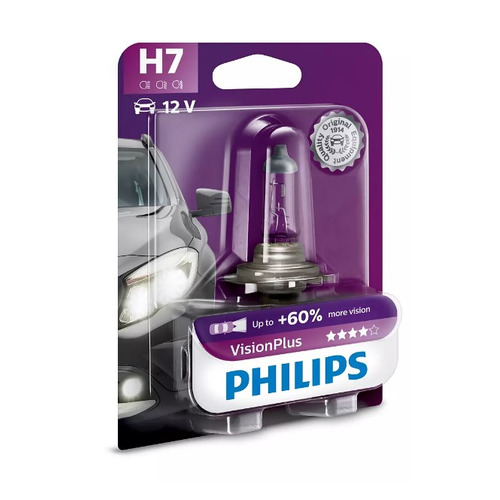 Лампа автомобильная галогенная Philips 12972XVPB1, H7, 12В, 55Вт, 1шт