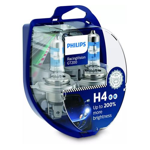 Лампа автомобильная галогенная PHILIPS 12342RGTS2, H4, 12В, 60Вт, 2шт