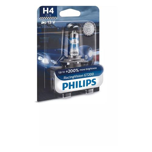 Лампа автомобильная галогенная PHILIPS 12342RGTB1, H4, 12В, 60Вт, 1шт