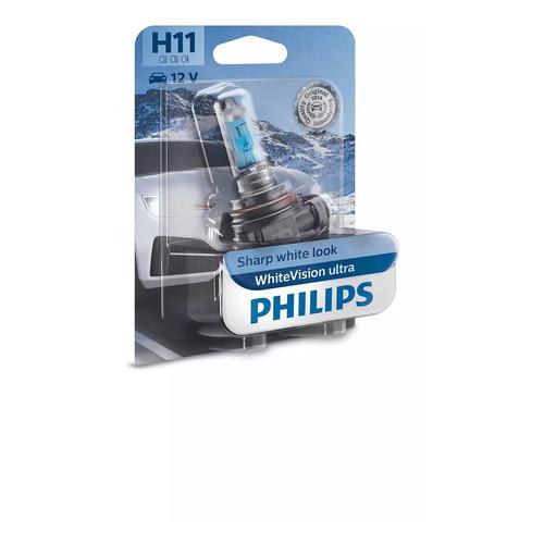Лампа автомобильная галогенная PHILIPS 12362WVUB1, H11, 12В, 55Вт, 1шт